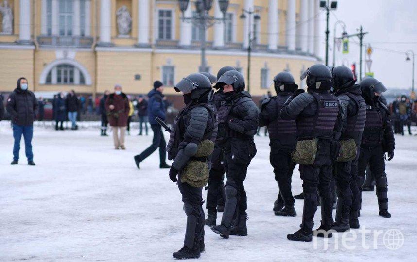 """Санкт-Петербург, 23 января 2021. Фото """"Metro"""""""