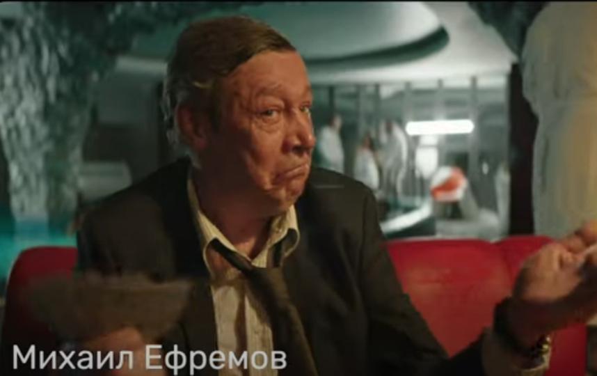 Михаил Ефремов снялся в сериале до трагедии на дороге в Москве. Фото Скриншот Youtube