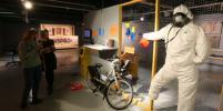 О карантине напомнят кирпичи, шалаш и икона: в Москве открылся