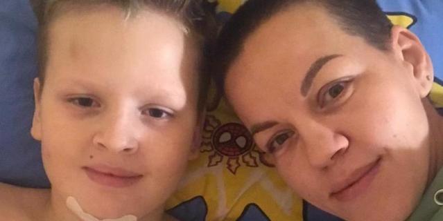 Мария Петрова живёт вместе с сыном в больнице.