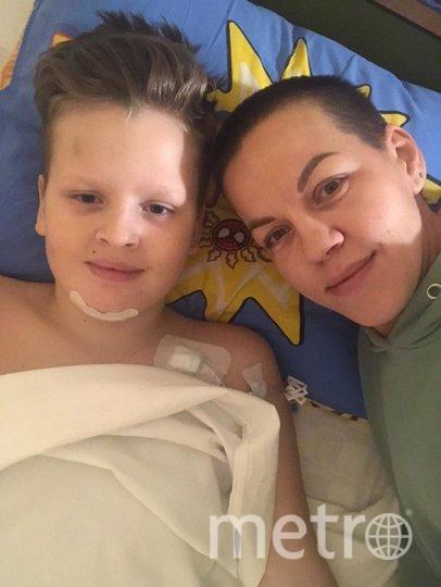 Мария Петрова живёт вместе с сыном в больнице. Фото фото из личного архива Марии Петровой