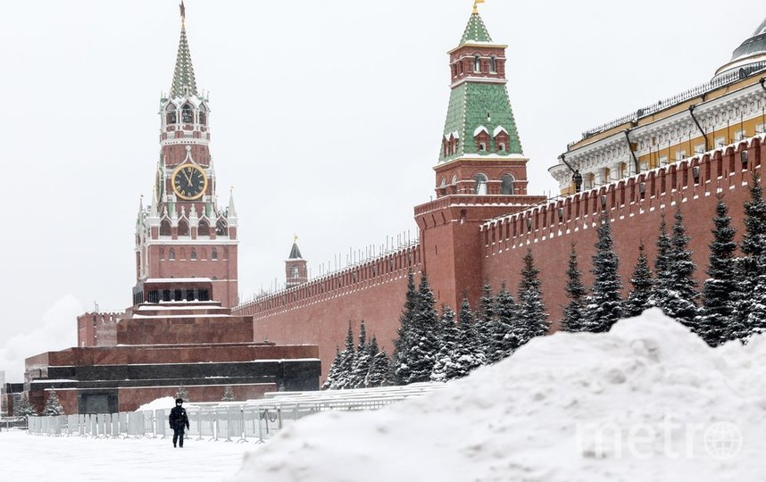 """Москва. Фото Кирилл Зыков/агентство """"Москва"""""""