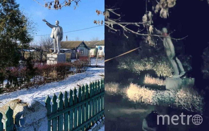 Памятник Ленину в селе Старые Трояны. Фото https://www.facebook.com/Nevidomy