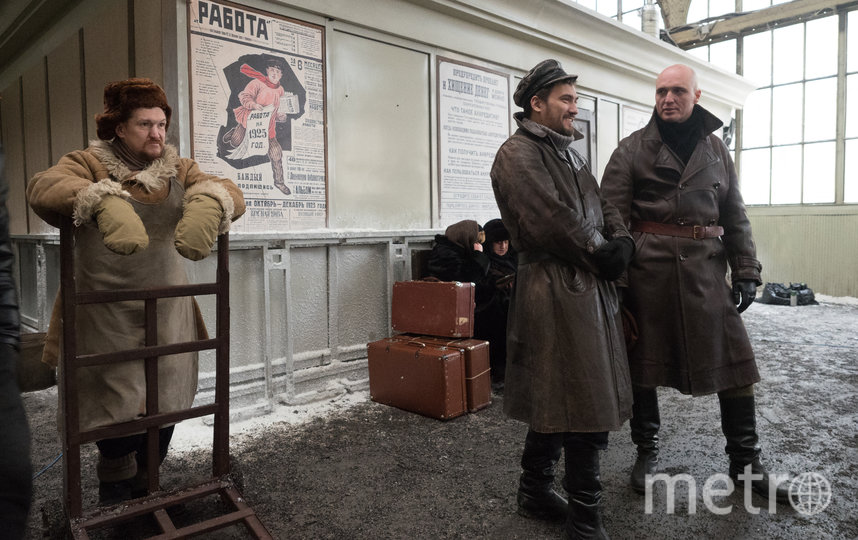 """На съёмках """"Декабря"""". Фото Святослав Акимов, """"Metro"""""""