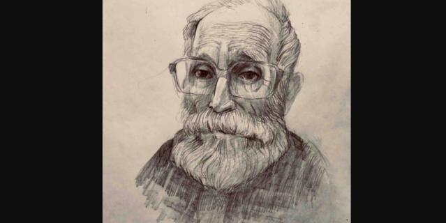 Сначала Георгий рисовал портреты своих соседей по больничной палате.