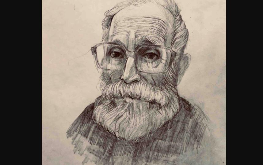 """Сначала Георгий рисовал портреты своих соседей по больничной палате. Фото  фото и рисунки предоставлены Георгием Смирновым, """"Metro"""""""