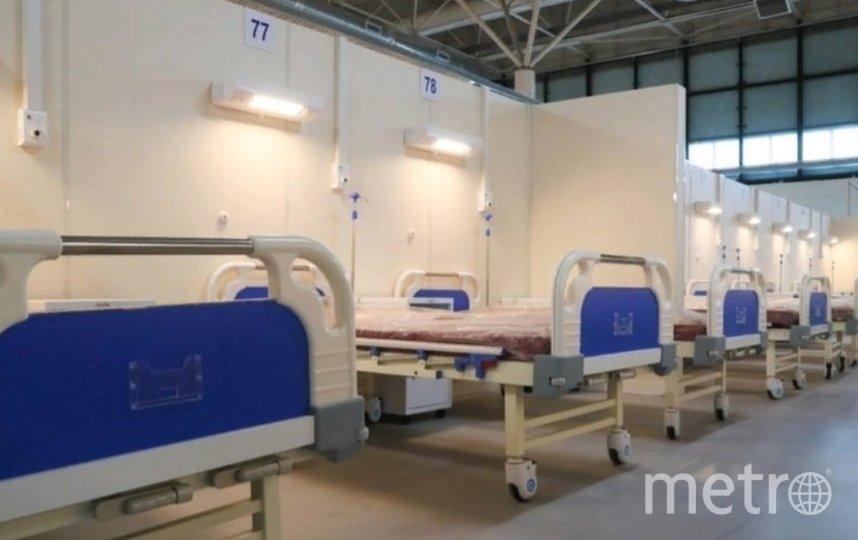 Снижается число госпитализаций с коронавирусом. Фото gov.spb.ru.