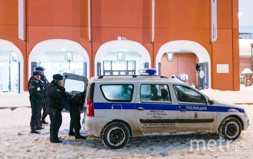 """Сотрудник столичной полиции спас жизнь мужчине (архивное фото). Фото АГН """"Москва"""""""