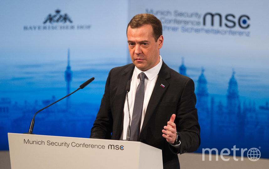 Дмитрий Медведев. Фото архив, Getty