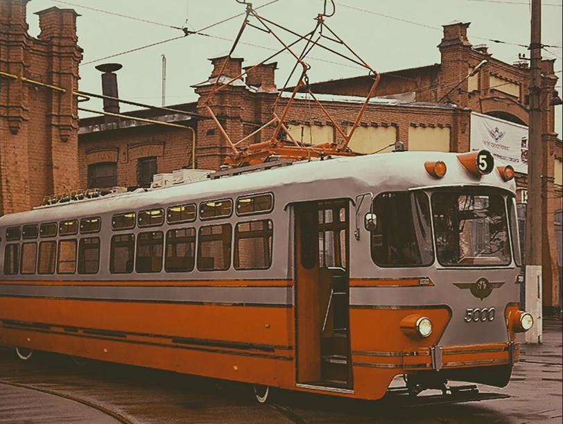 Экскурсионный трамвай. Фото https://www.instagram.com/dklurie/