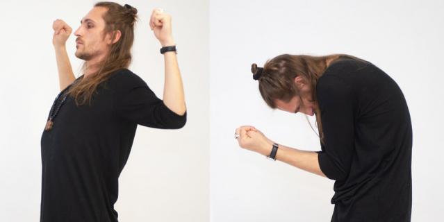 2 упражнение: бхастрика вьяяма.