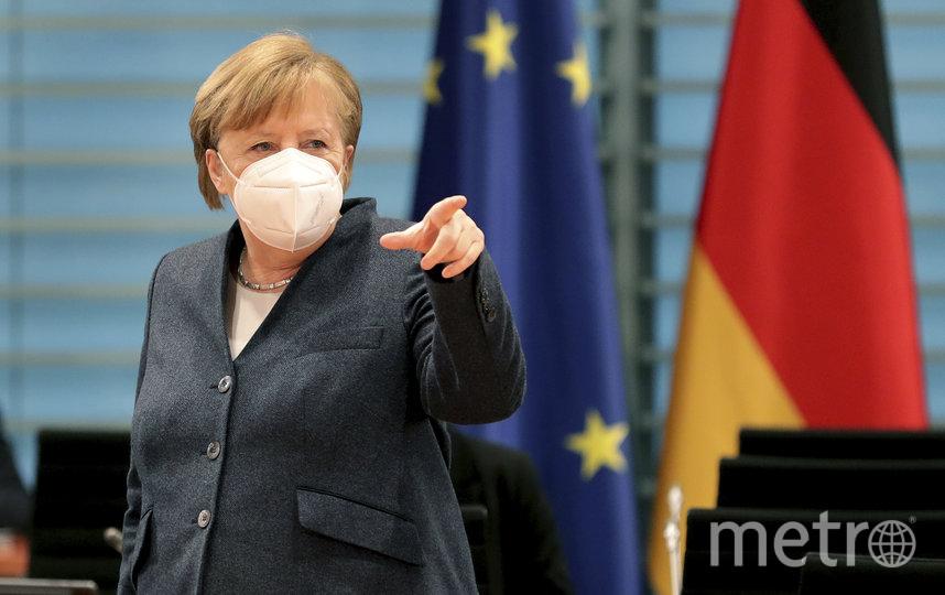 Канцлер Германии Ангела Меркель. Фото AFP
