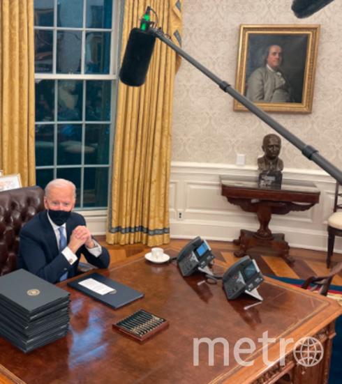 Портрет Эндрю Джексона был заменён портретом Бенджамина Франклина. Фото Twitter: @7im
