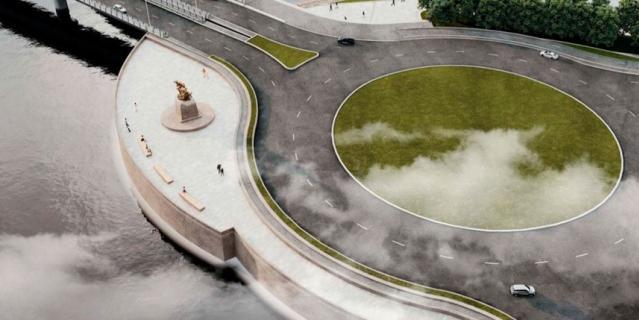 Памятник императору появится у Лахта Центра.