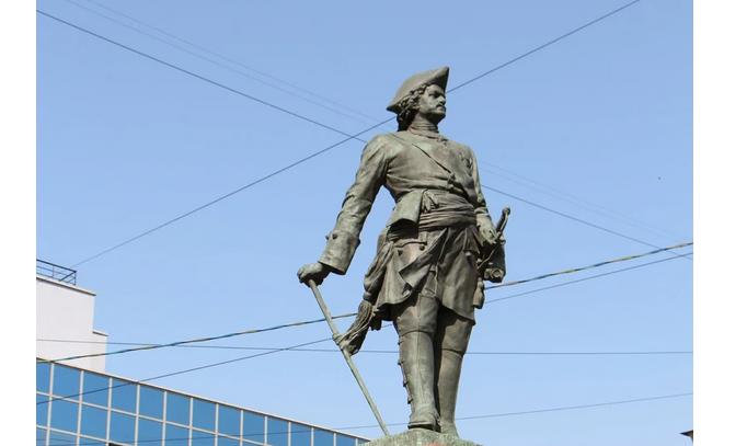 Памятник Петру на Сампсониевском. Фото vk.com