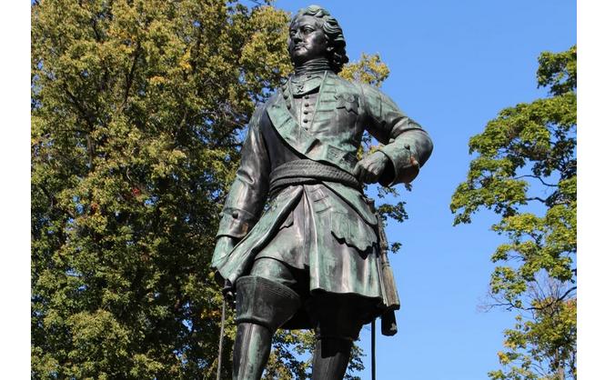 Памятник Петру в Кронштадте. Фото vk.com