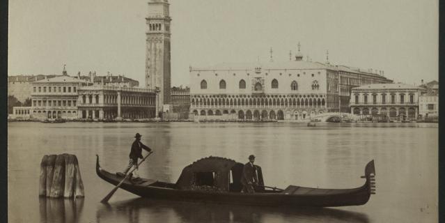 """Выставка """"Венеция вдали, как странный сон…"""" знакомит с коллекцией """"венецианских"""" материалов из собрания Государственного музея истории Санкт-Петербурга."""