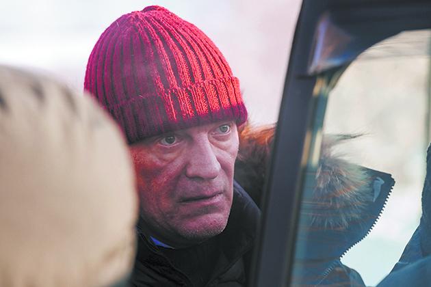 Алексей Серебряков на холодной натуре. Фото Ксения Угольникова, Предоставлено организаторами