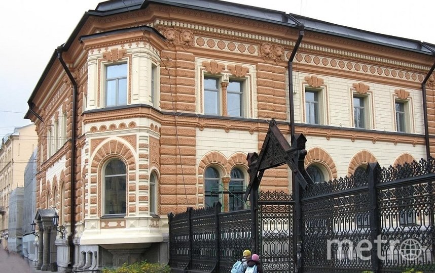 Отреставрированный особняк Сан-Галли. Фото https://www.instagram.com/droogie.ru/