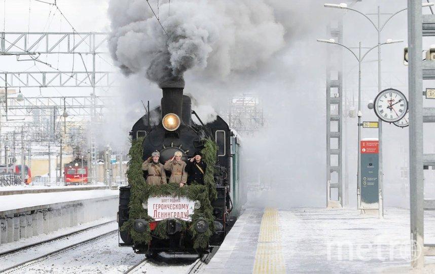 Участники реконструкции воссоздали атмосферу событий февраля 1943 года. Фото пресс-служба Октябрьской железной дороги.