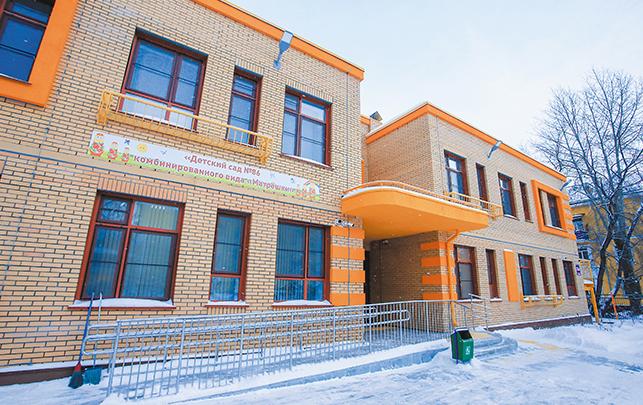Несмотря на ограничения, продолжалось строительство новых детских садов и школ. Фото Мэрия Новосибирска