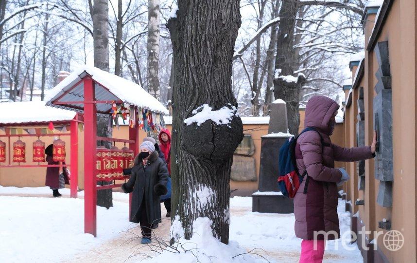 """Петербургские буддисты проводили год Белой Металлической Мыши. Фото Алена Бобрович, """"Metro"""""""