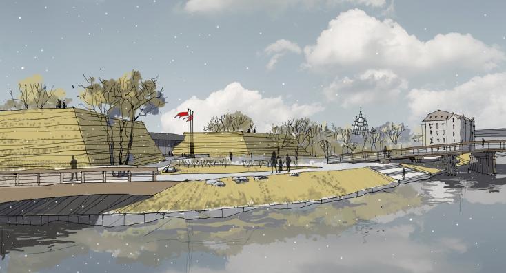 Иллюстрация. Вид с набережной реки Охты. Фото Предоставлено организаторами