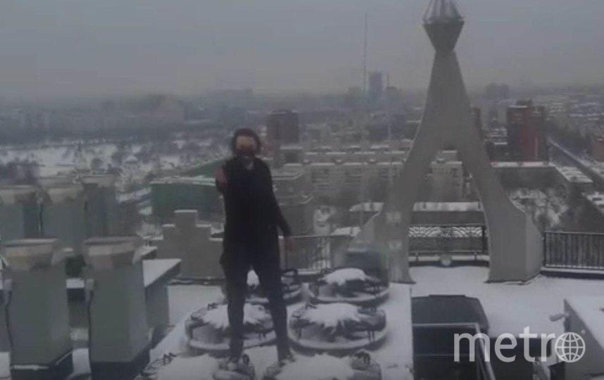 Руфер Кирилл прославился после того, как покорил вершину петербургского небоскрёба Лахта Центр. Фото Kirill Outer Area, Скриншот Youtube