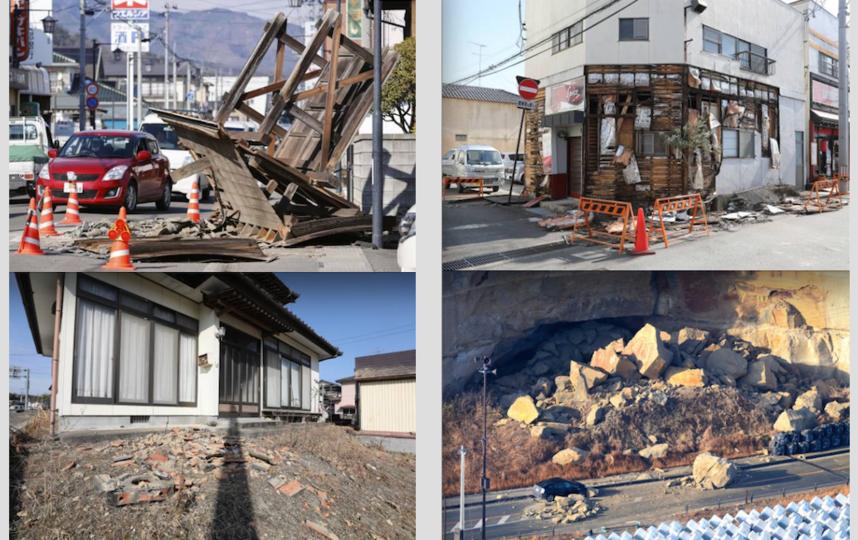 Землетрясение в Японии. Фото Getty