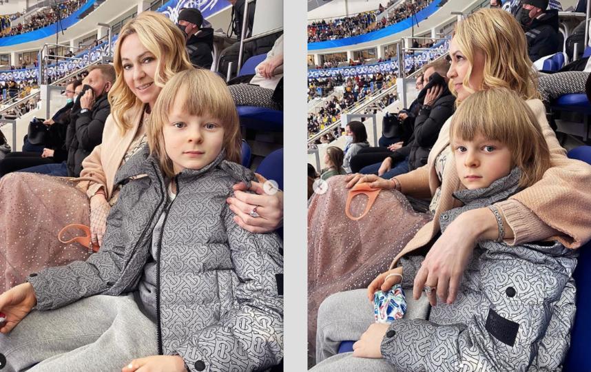 Яна Рудковская и ее сын Александр. Фото Скриншот Instagram: @rudkovskayaofficial