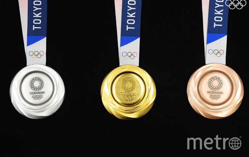 Медали. Фото Twitter: @Olympics