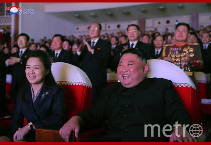Ким Чен Ын и Ли Соль Чжу. Фото ЦТАК