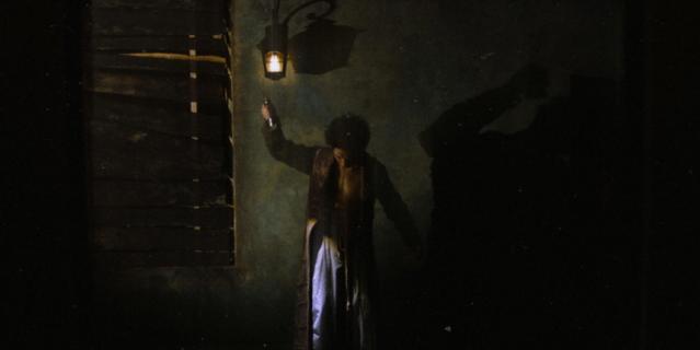 Кадр из шоу: снимать во время спектакля в особняке запрещено.
