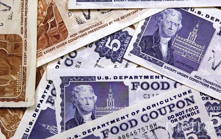 """Food Stamps - американские """"талоны"""", существующие с 1939 года. Фото Getty"""