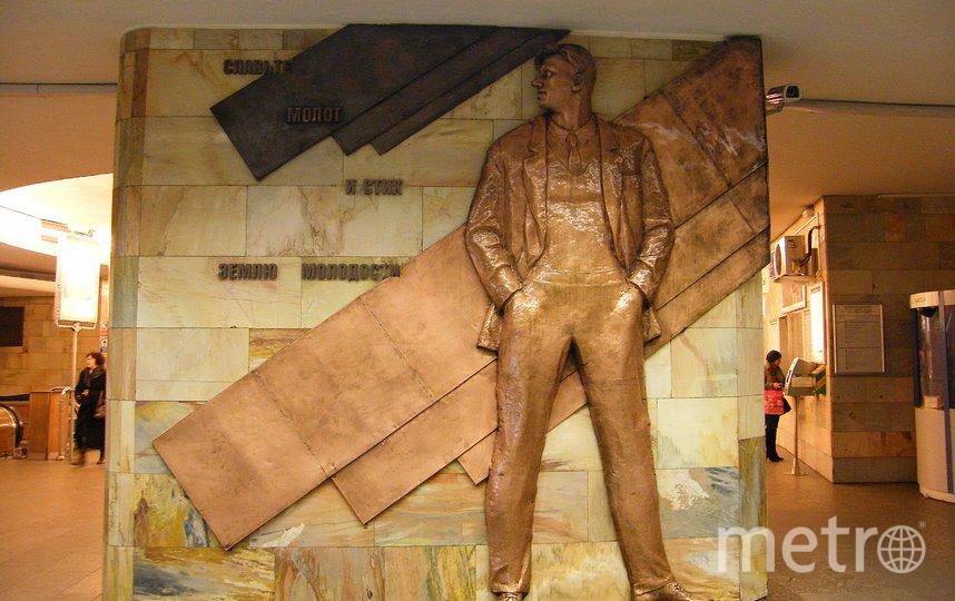 Металлический Маяковский сейчас – на хранении. Фото wiki.nashtransport.ru.