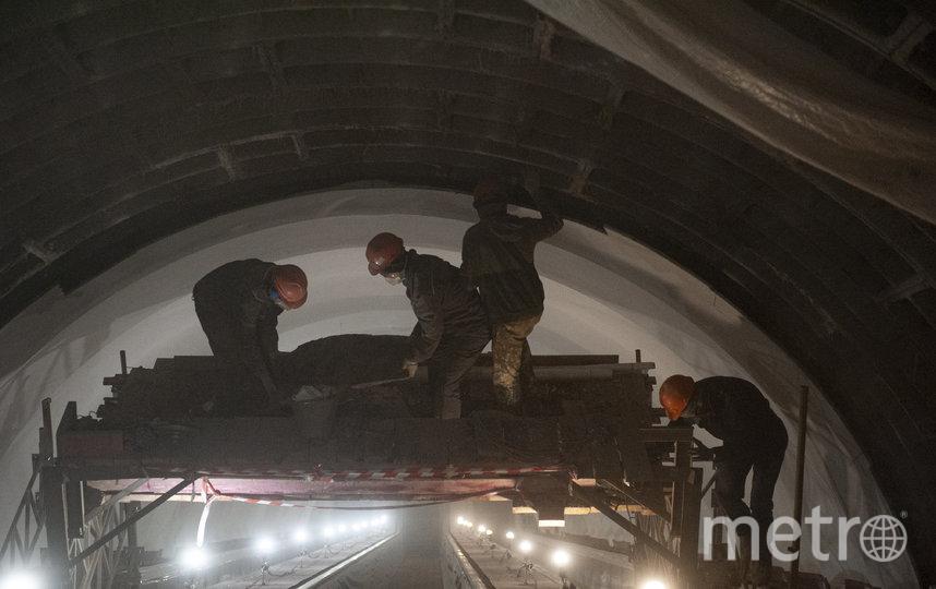"""Специалисты ведут на """"Маяковской"""" масштабнейшие работы. Фото Metro"""