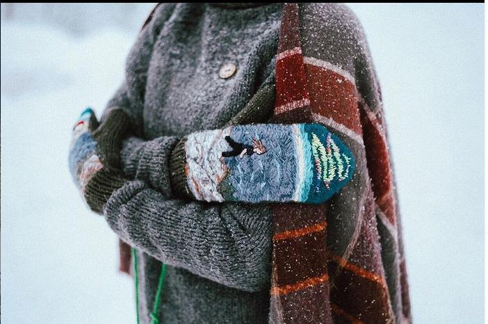 Варежки часто заказывают как подарок. Фото instagram.com@juliatselkova
