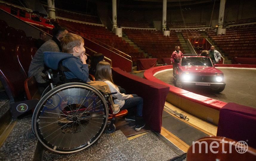 Саша Никитин и его семья побывали на репетиции в цирке. Фото Василий Кузьмичёнок