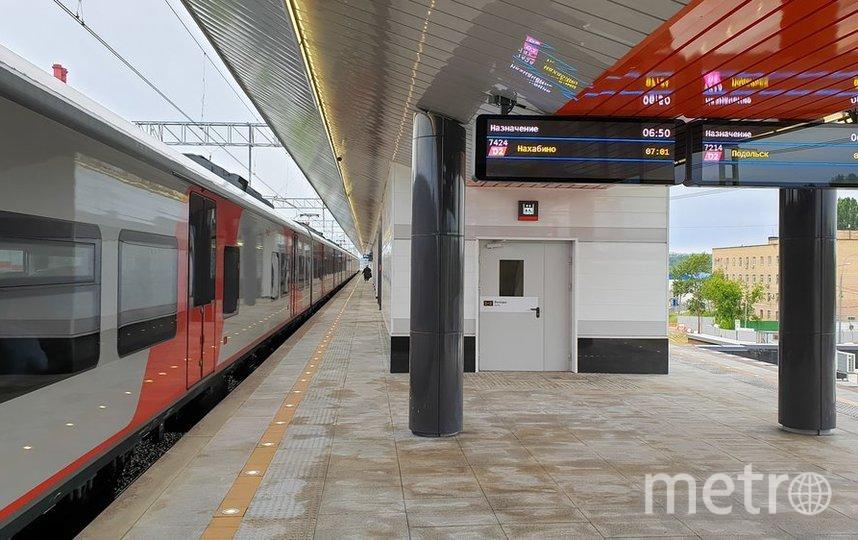"""Станция """"Курьяново"""" МЦД-2. Фото АГН """"Москва"""", из архива"""