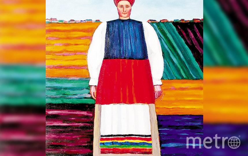 Картина Бориса Смотрова. Фото WWW.NSARTMUSEUM.RU