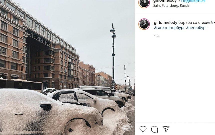 В ближайшие три дня будет идти снег. Фото instagram.com/girlofmelody/.