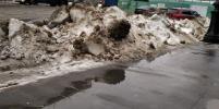 Петербург после снегопада и резкой оттепели утопает в лужах. Это надолго?
