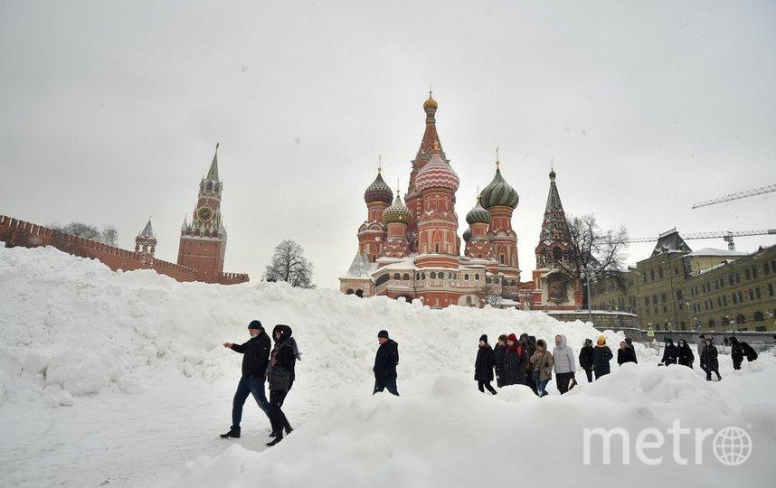 """Москва. Фото Киселев Сергей/агентство """"Москва"""""""