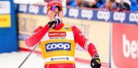 Лыжник Большунов впервые в карьере завоевал золото на чемпионате мира