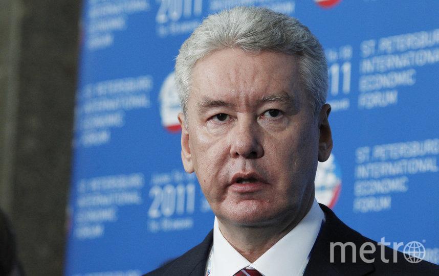 Мэр столицы Сергей Собянин. Фото Getty
