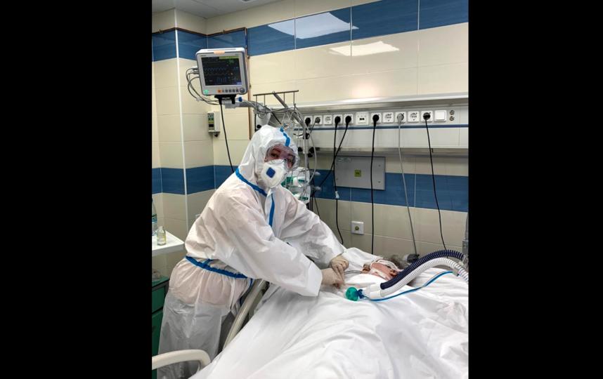 Александровская больница оказывала помощь больным с пневмониями во время второй волны эпидемии. Фото https://vk.com/lisovets_d