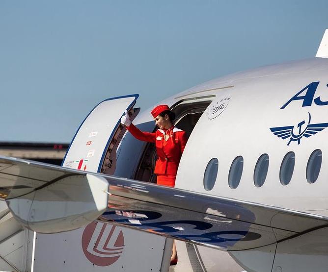 Винный авиарейс. Фото Скриншот Instagram: @aeroflot