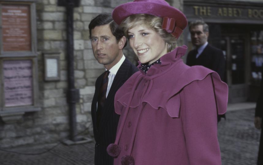 Принцесса Диана и Чарльз. Фото Getty