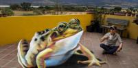 Объёмные фрески из Мексики начали путешествие по миру