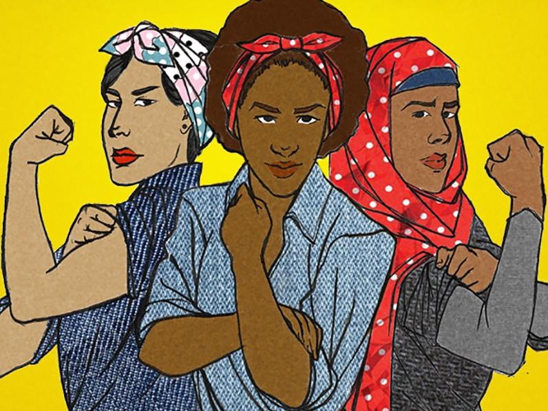 """Библиотека """"Бронницкая"""" порадует лекцией """"Гидра феминизма"""". Фото lermontovka-spb"""